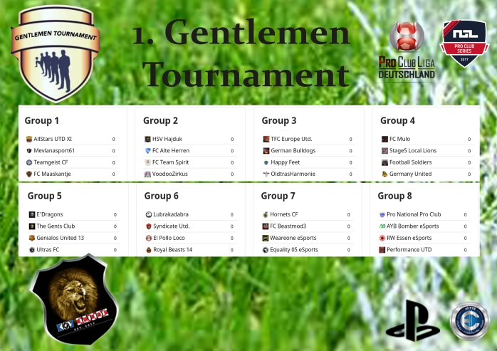 Gentlmen_Übersicht Teams